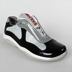 prada ladies bag - Prada Sneakers America's Cup Grey Patent and Black | Shoes ...