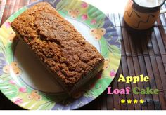 Apple Loaf Cake. 3/4wheat 1/4all purpose flour. 1/4 oats. Sour cream instead of yogurt. Try brown sugar instead next time.