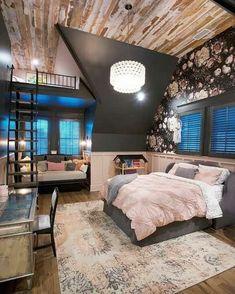 Room Design Bedroom, Girl Bedroom Designs, Room Ideas Bedroom, Home Room Design, Bedroom Decor, Teen Bedroom, Master Bedroom, Outdoor Bedroom, Awesome Bedrooms