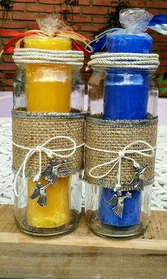 Velas artesanales vaciadas en c scaras de huevo en diferentes colores y aromas un tipo m s - Aromas para velas ...