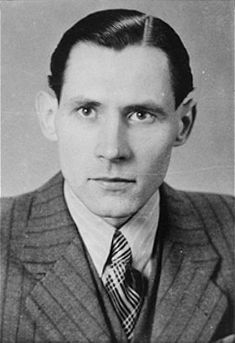 Karl-Heinz Kusserow, a Jehovah's witness who was imprisoned by the Nazis because of his beliefs. He was a prisoner in the Dachau and Sachsenhausen concentration camps in Germany.