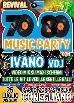 Revival anni 70/80 Music and Video - 25 luglio 2013