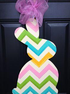 Easter Door Hanger  by SouthernDoor on Etsy, $30.00