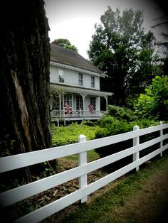 Country Homes in Upstate~ Americana