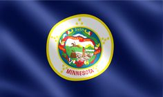 minnesota state flag pictures