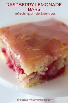 Mini Desserts, Lemon Desserts, Lemon Recipes, Just Desserts, Baking Recipes, Sweet Recipes, Cookie Recipes, Delicious Desserts, Raspberry Dessert Recipes