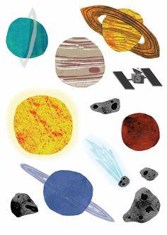 space illustration - www.jessicaprocter.co.uk