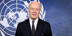 """وسيط الامم المتحدة لسوريا يبدأ """"مشاورات منفصلة"""" مع كل اطراف النزاع السوري UN mediator for Syria begins """"separate consultations"""" with all parties to the Syrian conflict"""