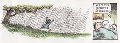 Correr en la lluvia