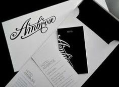 typography stationary