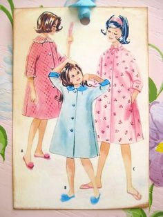 Retro Robe Pattern Tags by sassysadielee on Etsy, $4.00