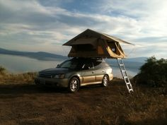 Subaru Outback (or similar) towing an expo trailer? Warning - philosophical…