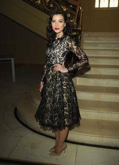 OMG Beau! Daisy Lowe wore pre-Fall 2013 Michael Kors