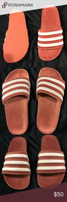 Adidas slides Brand new adidas Shoes Slippers