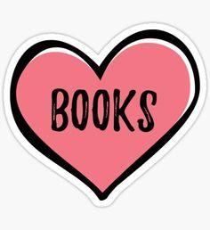 BOOKS (heart) by prettygeekery