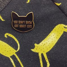 Best. Pin. Ever!  Get yours from http://ift.tt/1ihQVKN  Kitty Dress also from LA LA LAND