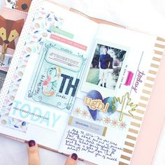 Traveler's Notebook Spread