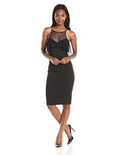 BCBGeneration Women's Black Sheath Dr…