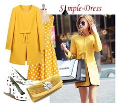 """""""Simple-dress 08"""" by irinavsl ❤ liked on Polyvore featuring Paola d'Arcano"""