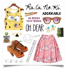 """""""It's Good To Be Odd"""" by racanoki ❤ liked on Polyvore"""