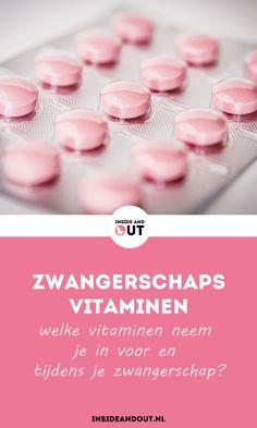 Zwangerschapsvitaminen: Welke vitaminen neem je in voor en tijdens je zwangerschap? Welke vitaminen moet je juist WEL, of juist NIET slikken? Je leest er over op www.insideandout.nl