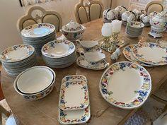 villeroy boch Melina | FINN.no Fine Porcelain, Table Settings, Plates, Tableware, Licence Plates, Dishes, Dinnerware, Griddles, Tablewares