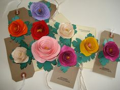 paper flower - Buscar con Google