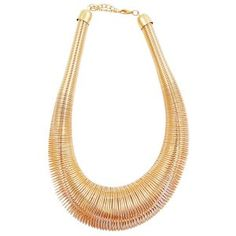 Gold Spring Choker Necklace