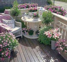 Ob Balkon oder Garten… Diese 10 tollen Sitzplätze möchte jeder haben! - DIY Bastelideen #DIYHomeDecorOutdoor