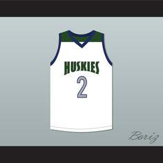 a60a6ae18 Lonzo Ball 2 Chino Hills High School Huskies White Basketball Jersey.  STITCH SEWN GRAPHICS CUSTOM