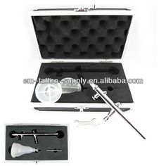 Professional Airbrush high quality, low price.It's best choice for airbrush makeup,airbrush tattoo and airbrush cake decorating.