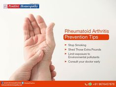 You can minimize the risk of #RheumatoidArthritis by following these prevention tips.