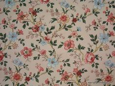 Vintage Wallpapers, Floral Design,