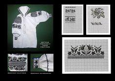 "Photo from album ""Сокальська вишивка"" on Yandex. Folk Embroidery, Cross Stitch, Album, Shirts, Yandex, Easter Eggs, Clothing, Needlepoint, Embroidery"