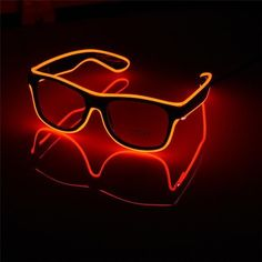 Flashing Party Glasses – Rebel Style Shop