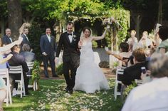 Lawn Wedding Ceremony