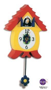 Cuckoo Kingdom, Inc - Cluckcoo Clock, Novelty Chicken Cuckoo Clock, Model