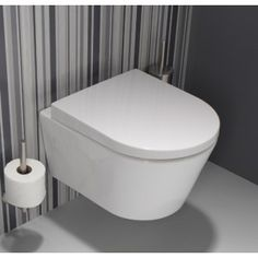 y with concealed fixation. Toilet Wall, Wall Mounted Toilet, Compact, Home And Family, New Homes, Boss, Bathrooms, Flow, 1