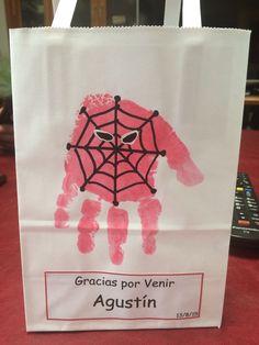 Bolsa con souvenir hombre araña