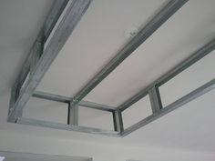 Un Caisson Decaissement Au Plafond Faux Plafond En Placo Plafond En Placo Plafond Suspendu Plafond