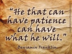 ~Why Patience is Required in Network Marketing~