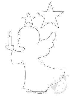 sagoma-angelo-candela