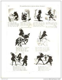 Die geprellten Freier und der bestrafte Geizals/Cartoon,entnommen aus Zeitschrift /Datum unbekannt, Vermutl Anfang 20.Jh