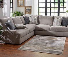 Broyhill Highland Living Room Sectional Deep Sectional, Living Room Sectional, Sectional Sofas, Oversized Sectional Sofa, Living Rooms, Oversized Couch, Apartment Living, Apartment Ideas, Broyhill Furniture