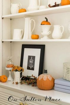 Decorating with Pumpkins | Tips and tricks from On Sutton Place