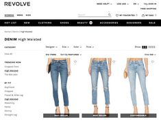 Revolve is one of my favorite places to shop for jeans online! Great seasonal sales!