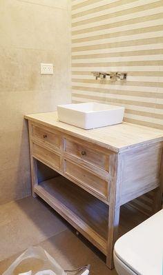 Vanitory Classic 4 cajones 1.05 x 0.45 x 0.75 Bench, Storage, Table, Furniture, Home Decor, Handmade Wood Furniture, Bathroom Furniture, Solid Wood, Old Wood