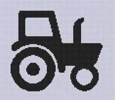 Tractor 8 Cross Stitch Pattern