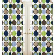 Sweet Jojo Designs Designer Dot Window Panels - Dot