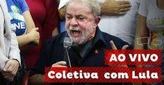 TV SAQUA  AO VIVO: Assista a Coletiva com o ex-presidente Lula na integra..